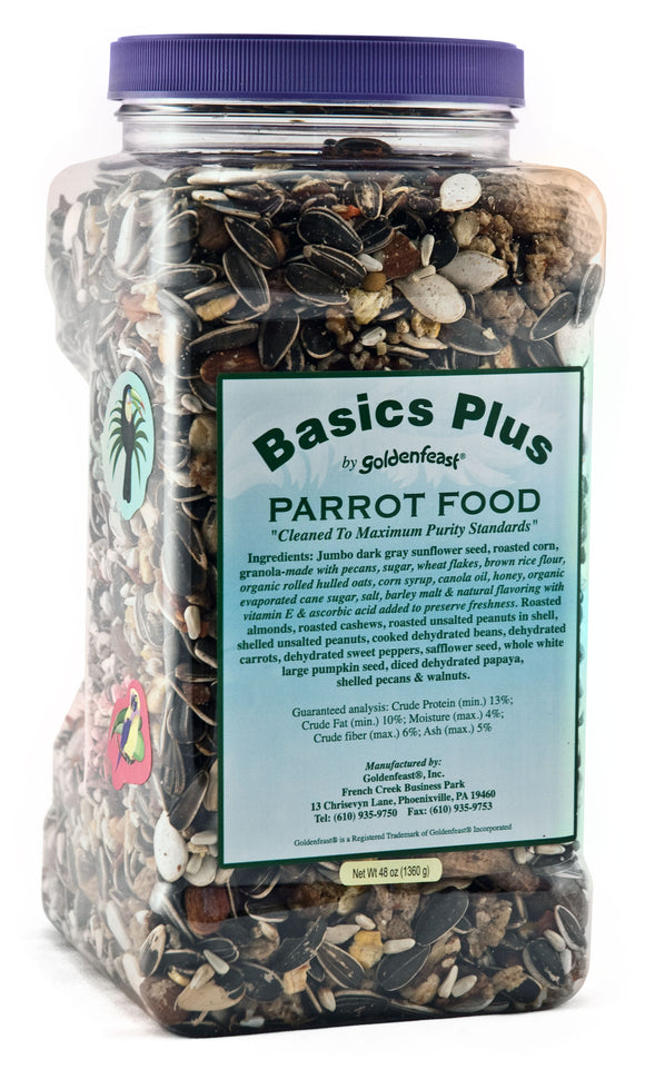 Basic Plus Parrot Food-48oz. (Basic Plus Parrot Food-48oz.)
