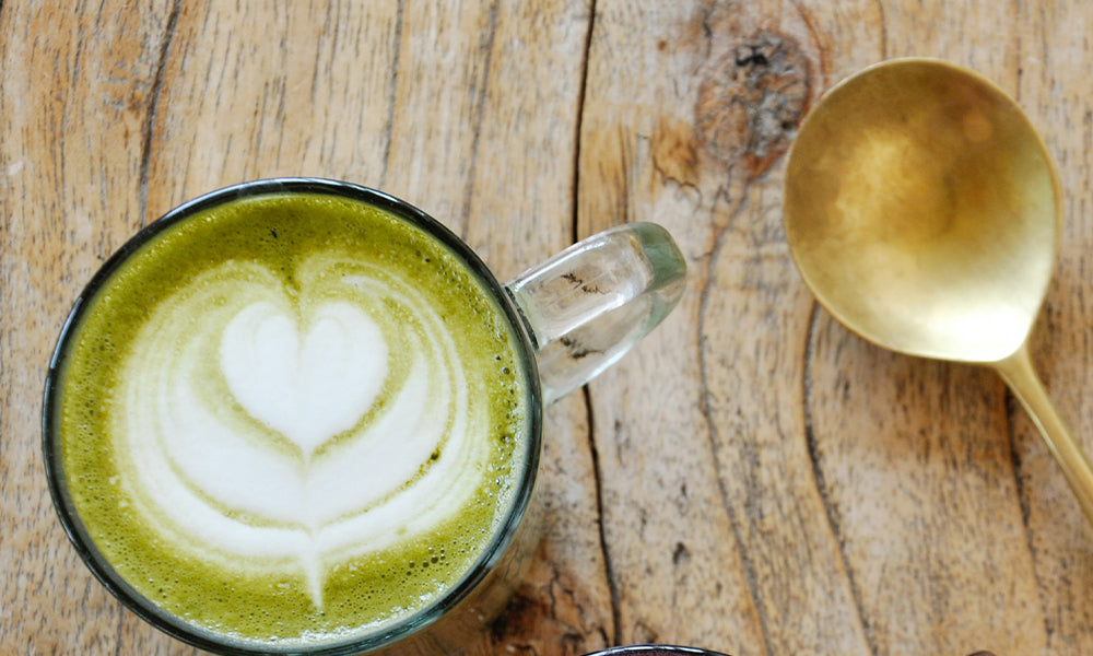 Quick and cheap vanilla matcha latte