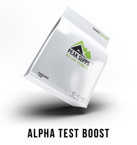 Peak Supps Alpha Test Boost Bag