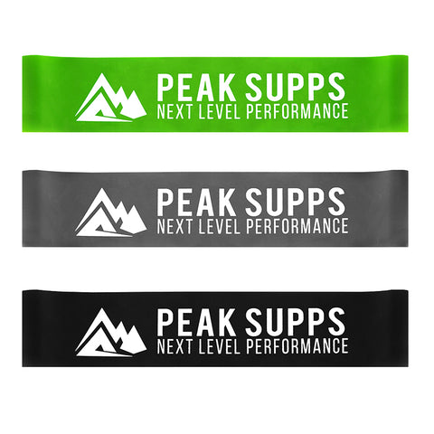 Peak Supps Resistance Loop Glute Bands