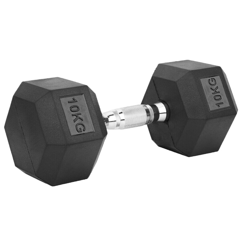 Peak Supps Hex Dumbbells - 10KG (Single)
