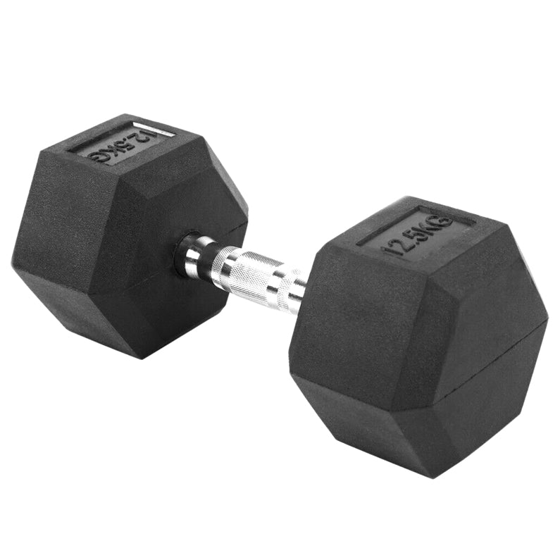 Peak Supps Hex Dumbbells - 12.5KG (Single)