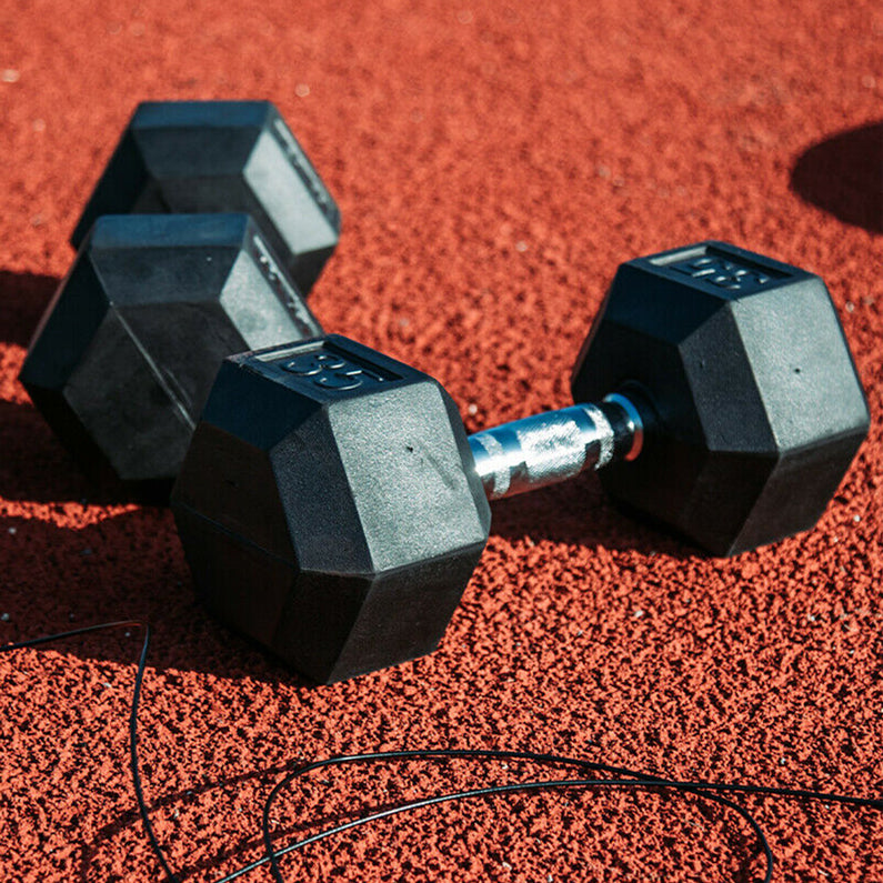 Peak Supps Hex Dumbbells