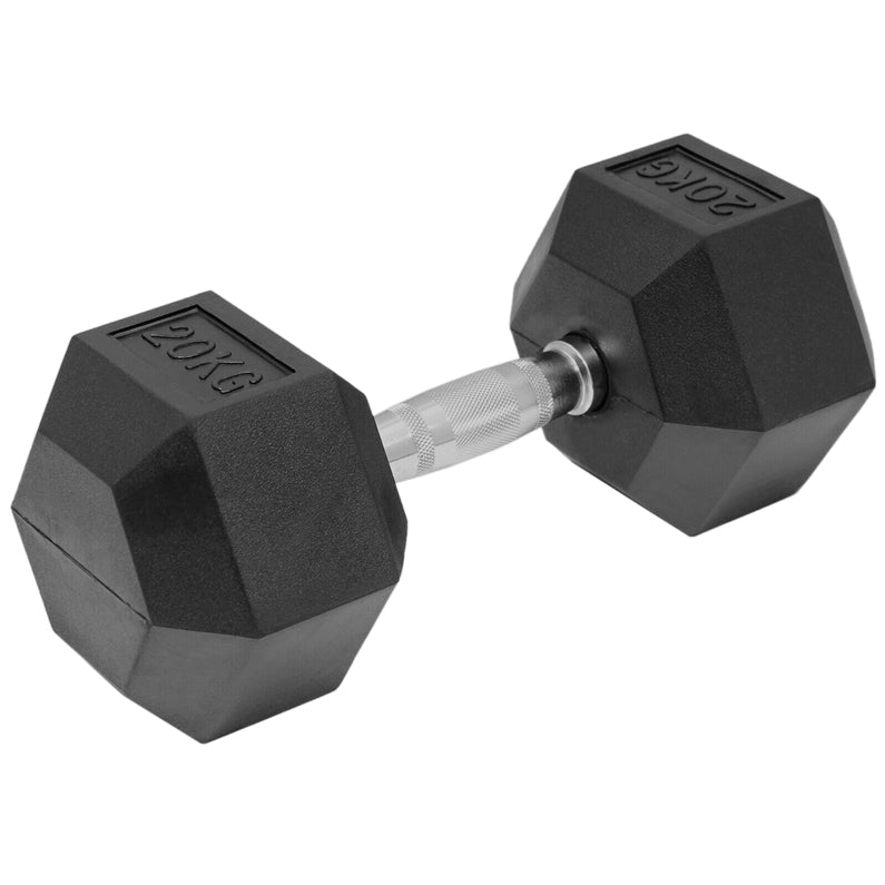 Peak Supps Hex Dumbbells - 20KG (Single)