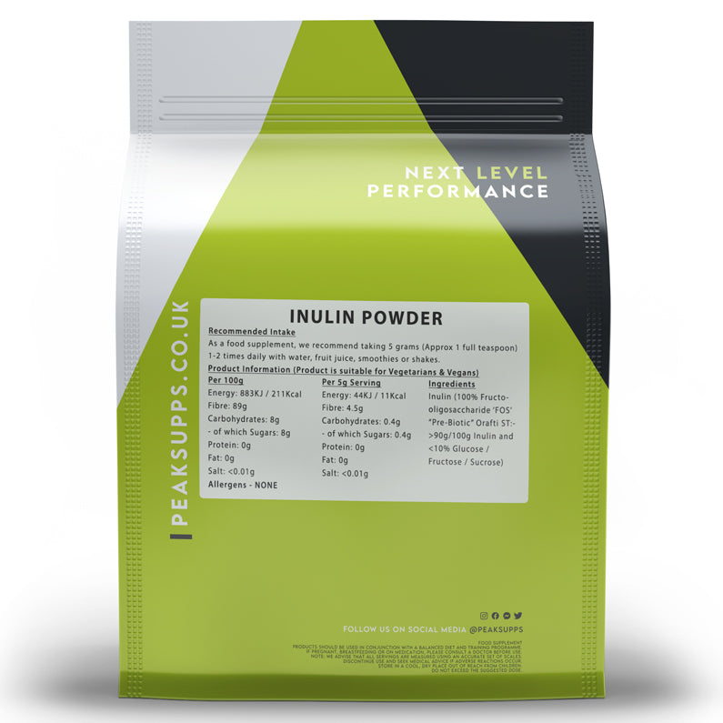 Peak Supps Inulin Powder