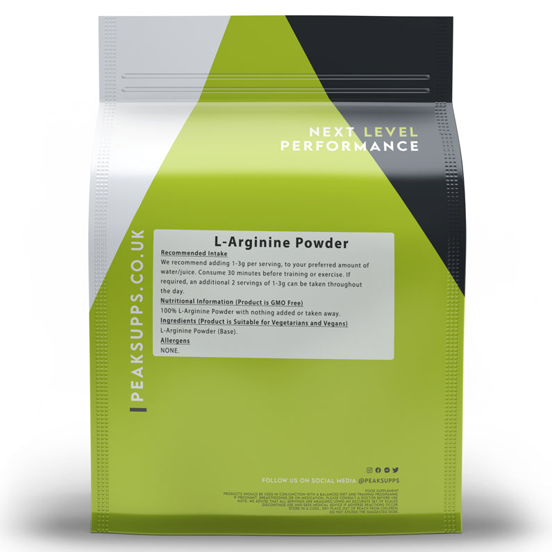 Peak Supps L-Arginine Powder