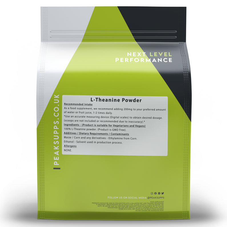 Peak Supps L-Theanine Powder