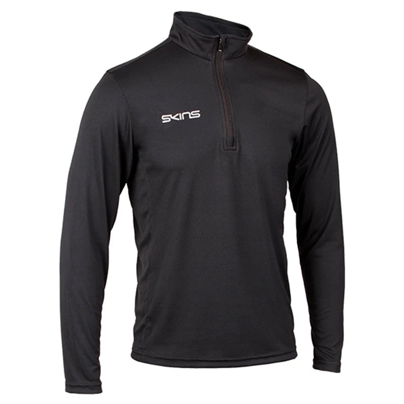 Skins 1/4 Zip Long Sleeve Tech Top - Womens - Black
