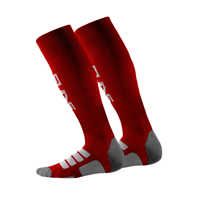 Skins Rugby Sock - Red