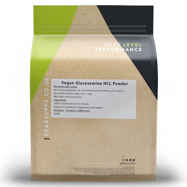 Peak Supps Glucosamine HCL Powder - Vegan
