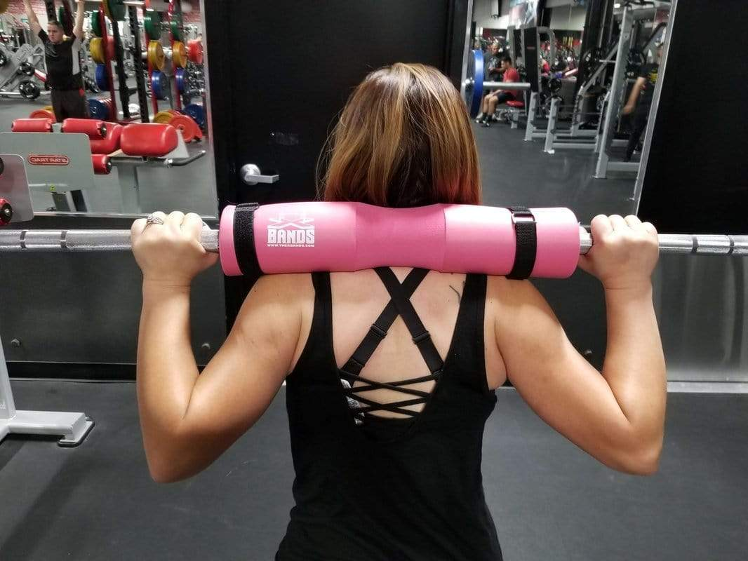 Hip thrust and squat barbell pad - The X Bands