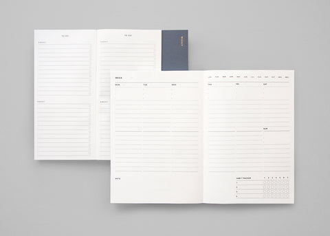 Poi Co. 2-in-1 Weekly Planner and To Do List