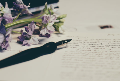 Letter writing by hand