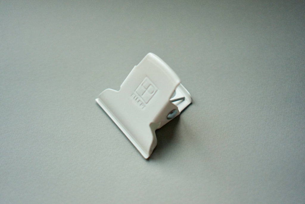 Ellepi Metal Clip in White - Small 5cm