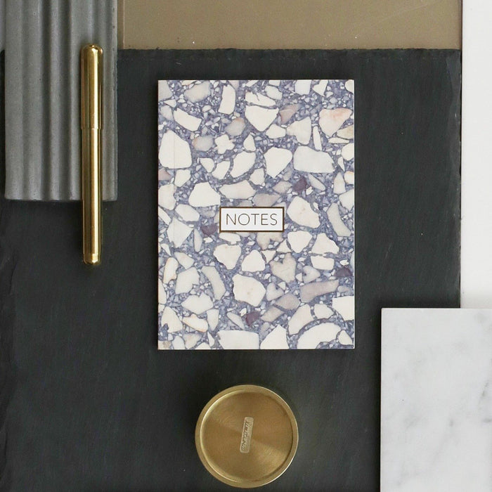 Form Maker Terrazzo Notebook in Grey