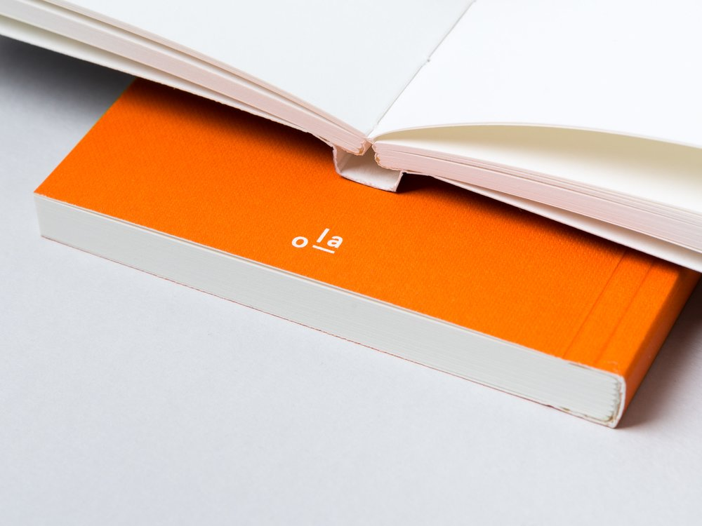 Ola Everyday Objects Edition 1 Layflat Notebook - plain unruled pages