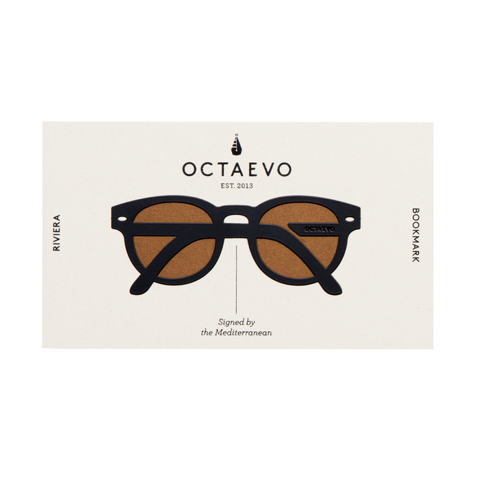 Octaevo Riviera Metal Bookmark in Black