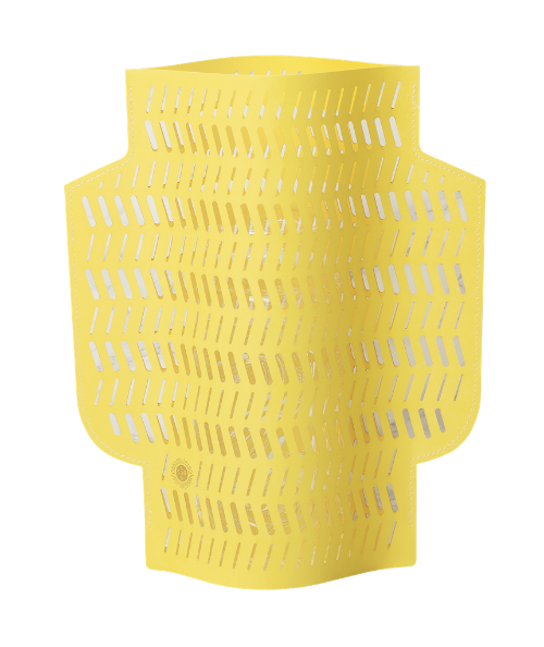 Octaevo Dendra Paper Vase in Yellow