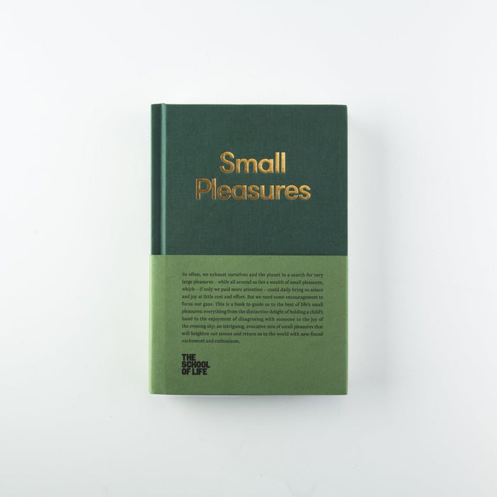 The School of Life Press - Small Pleasures Book