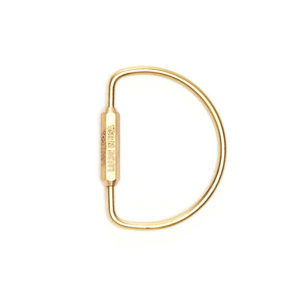Maxx & Unicorn Co. Brass Key D-Ring