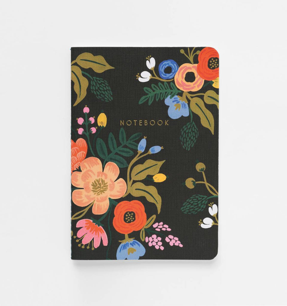 Rifle Paper Co. Lively Floral Stitched Notebook Set
