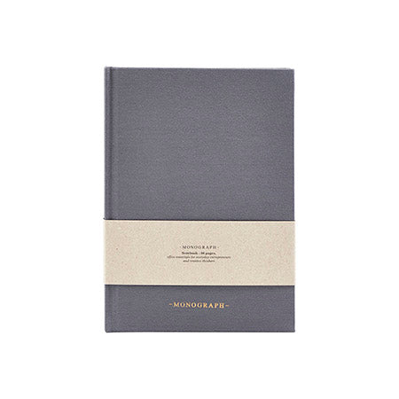 Monograph A5 Ruled Notebook in Blue