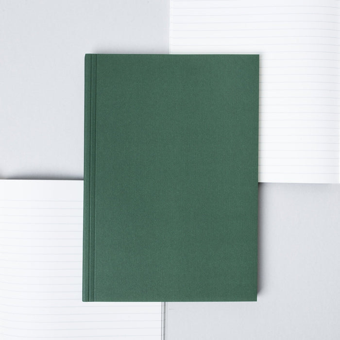 Ola Everyday Objects Edition 1 Layflat Notebook in Triangle/Green