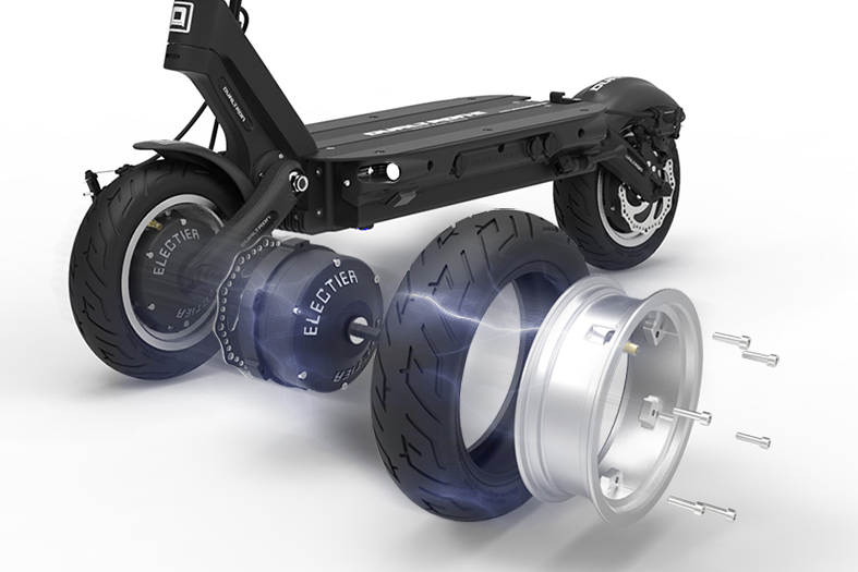 Dualtron 3 Wheel Assembly