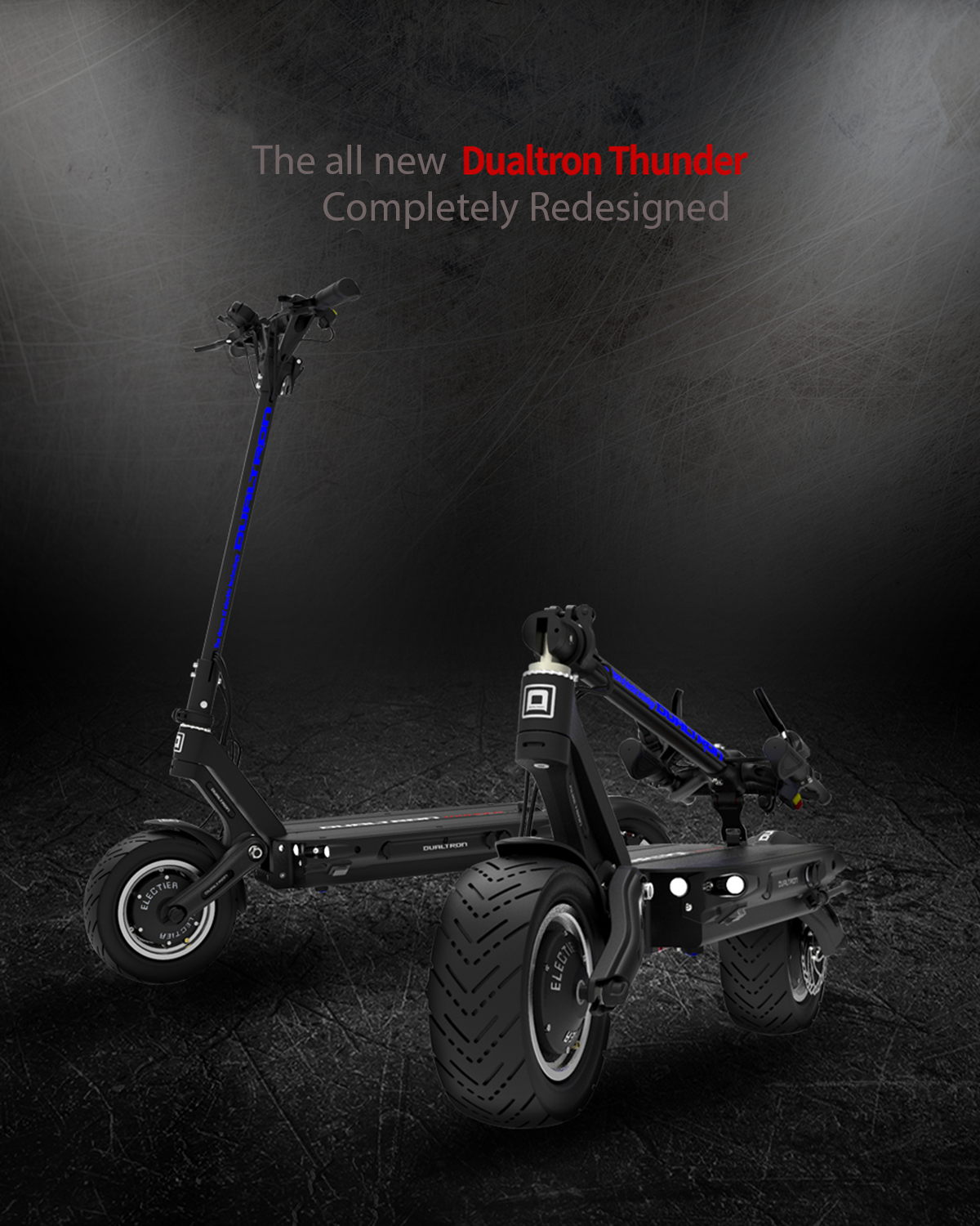 Dualtron Thunder Electric Scooter Headline Picture