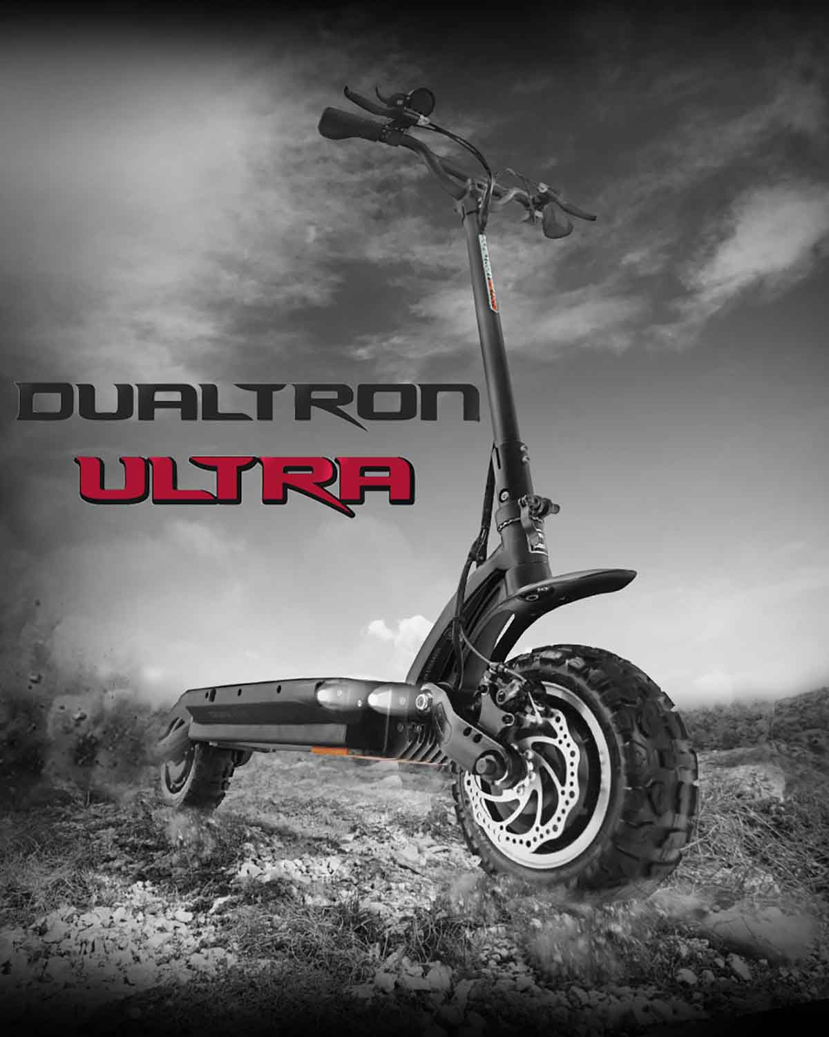 Dualtron Ultra Electric Scooter Headline Picture