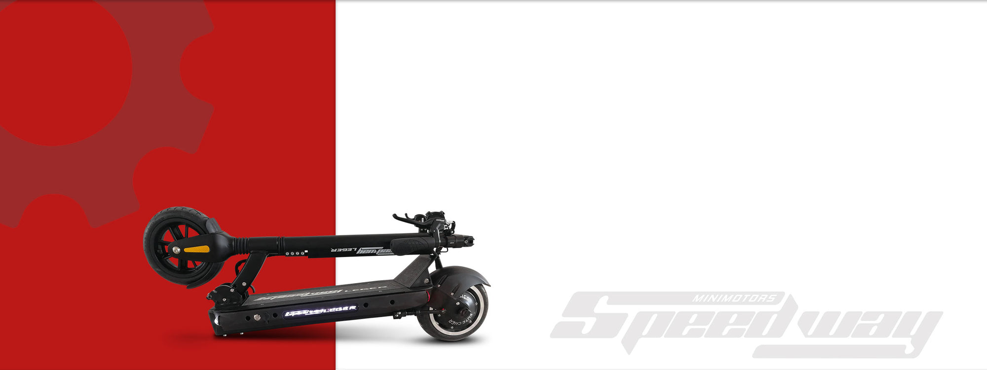 Speedway Leger - long range electric scooter