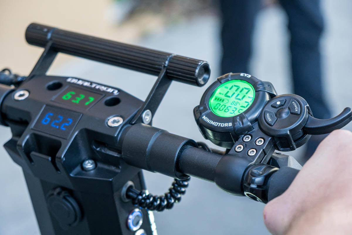 Dualtron X Throttle and Volt Meter