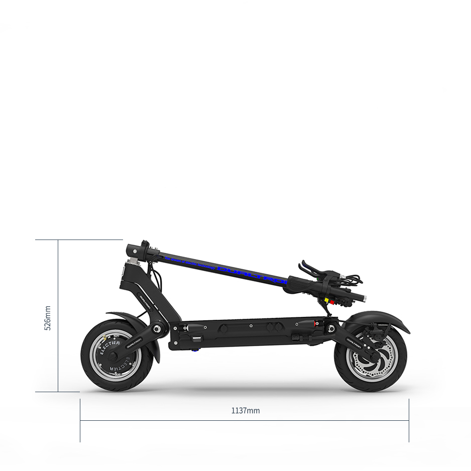 Dualtron 3 Electric Scooter Folded Dimensions