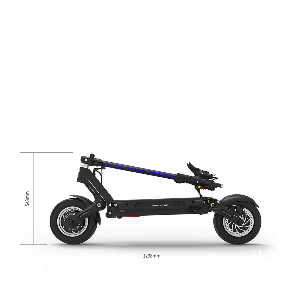 Dualtron Thunder Electric Scooter Folding Dimensions