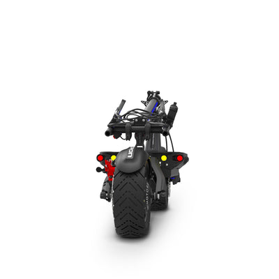 Dualtron Thunder Electric Scooter Folding Profile Back