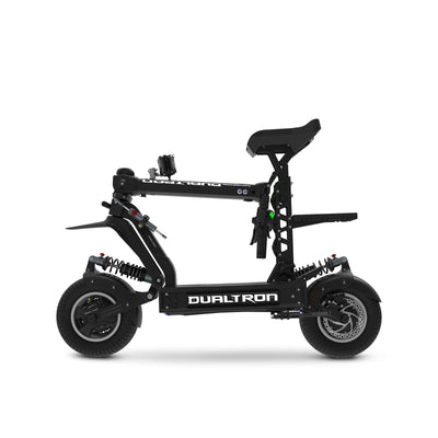 Dualtron X Electric Scooter Folded Left Side