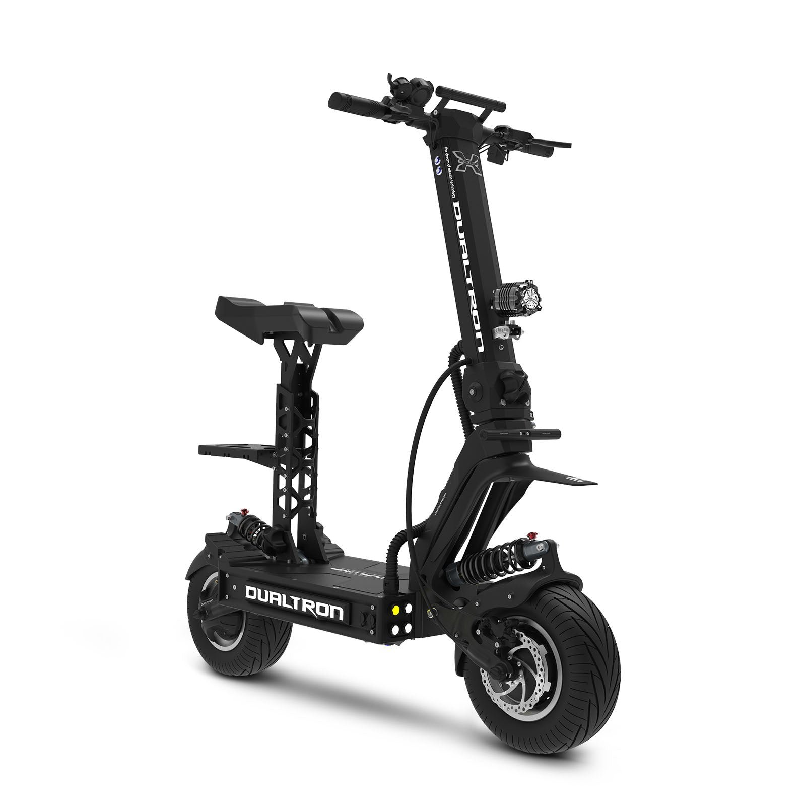 Electric Scooter With Seat >> Dualtron X Electric Scooter