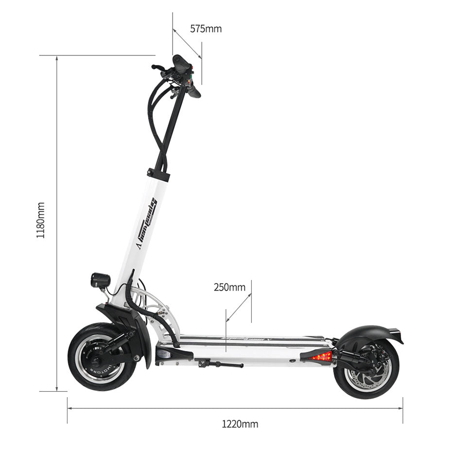 Speedway 5 Electric Scooter Dimensions