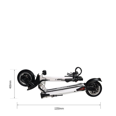 Speedway 5 Electric Scooter Folded Dimensions