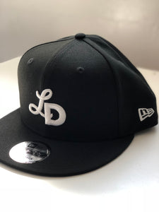New Era 950 Snap Back - White Monogram