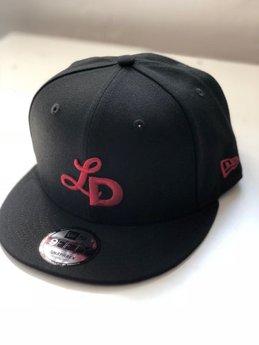 New Era 950 Snap Back - Red Monogram Cap
