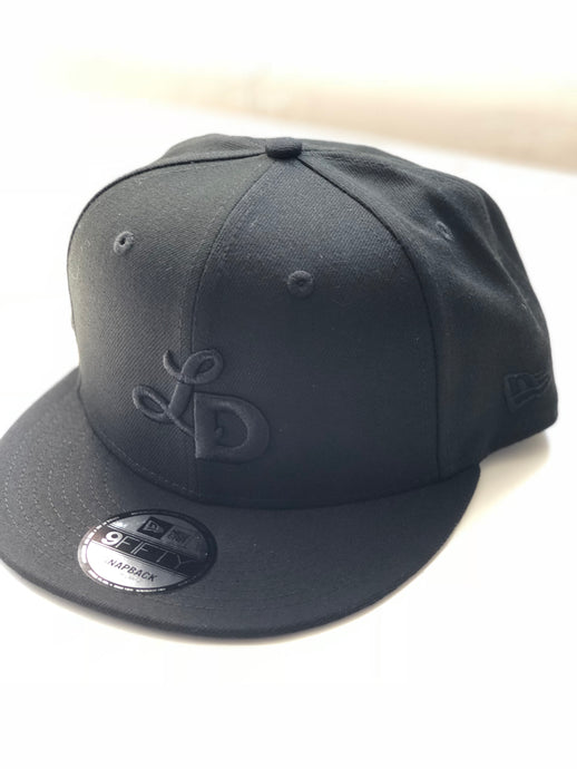 New Era 950 Snap Back - Black Monogram