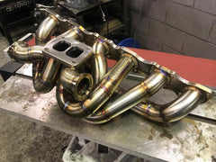 RB Twin Scroll Turbo Manifold