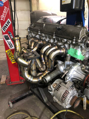 2JZGTE Twin Scroll Turbo Manifold
