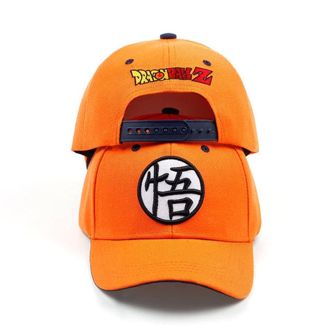 Dragon Ball Z Goku Baseball Caps Orange