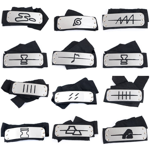 Naruto Headband Cosplay (All Village)
