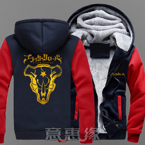 Black Clover - Black Bulls Winter Jacket