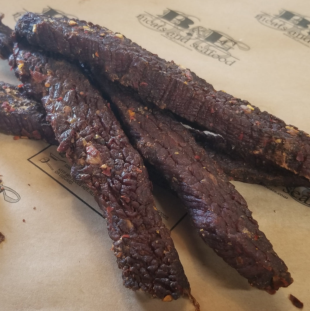 Beef jerky, thick cut teriyaki (priced per lb.)