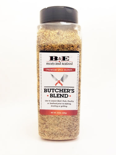 Butcher's Blend, seasoning (28 oz. per container)