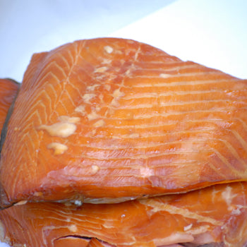 Alder-smoked salmon (priced per lb.)